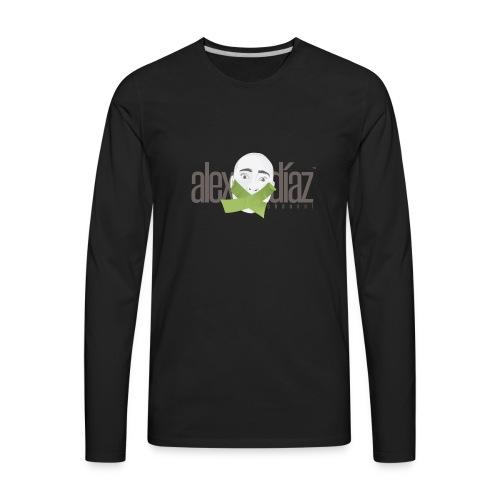 ALEX DIAZ LOGO - Men's Premium Long Sleeve T-Shirt