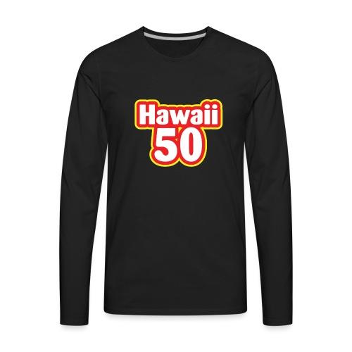 Hawaii 50 - Men's Premium Long Sleeve T-Shirt