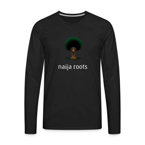 naijaroots - Men's Premium Long Sleeve T-Shirt