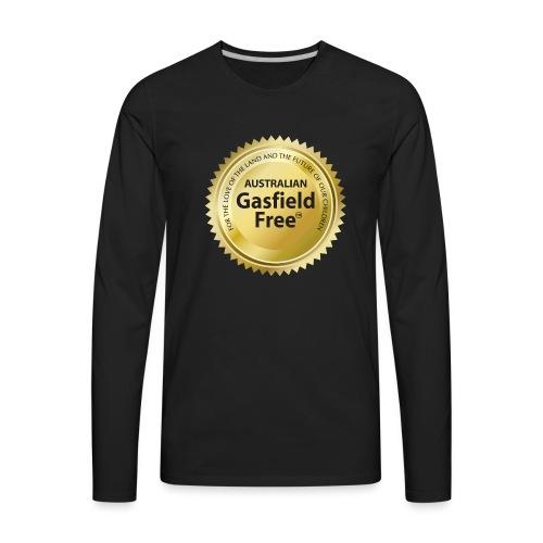 AGF Organic T Shirt - Traditional - Men's Premium Long Sleeve T-Shirt