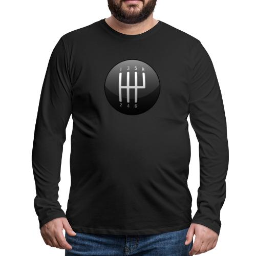 Classic Muscle Car / Sports Car Shift Knob - Men's Premium Long Sleeve T-Shirt
