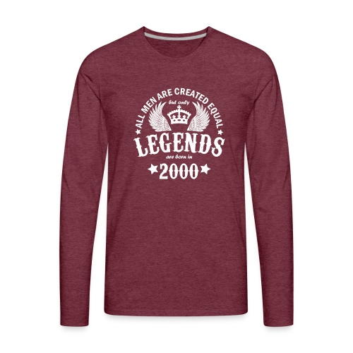 Legends are Born in 2000 - Men's Premium Long Sleeve T-Shirt