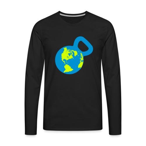 It's a Kettlebell World - Men's Premium Long Sleeve T-Shirt