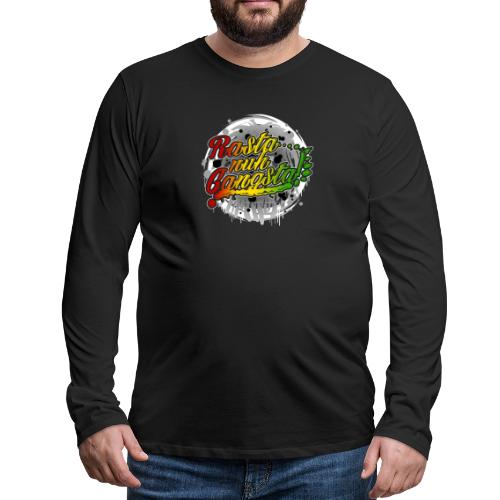 Rasta nuh Gangsta - Men's Premium Long Sleeve T-Shirt
