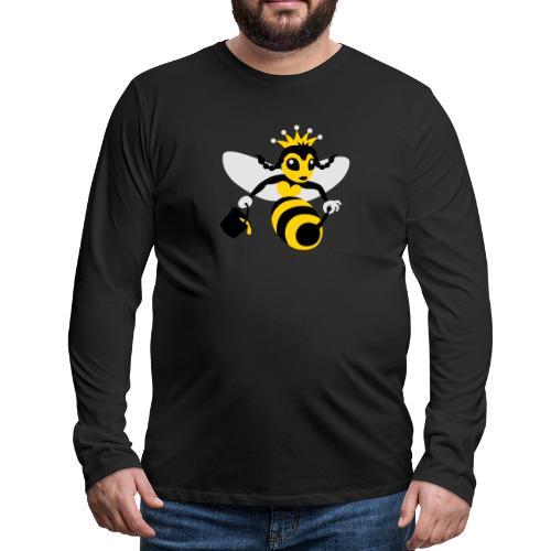 Queen Bee - Men's Premium Long Sleeve T-Shirt