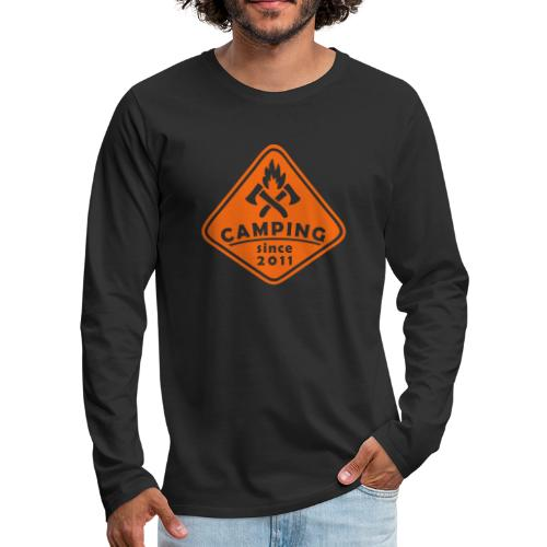 Campfire 2011 - Men's Premium Long Sleeve T-Shirt