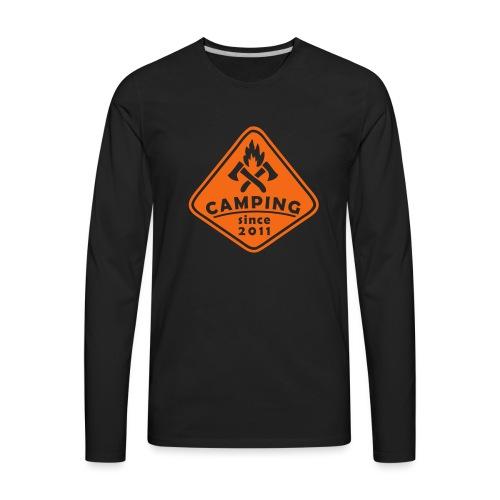 Campfire 2011 - Men's Premium Long Sleeve T-Shirt