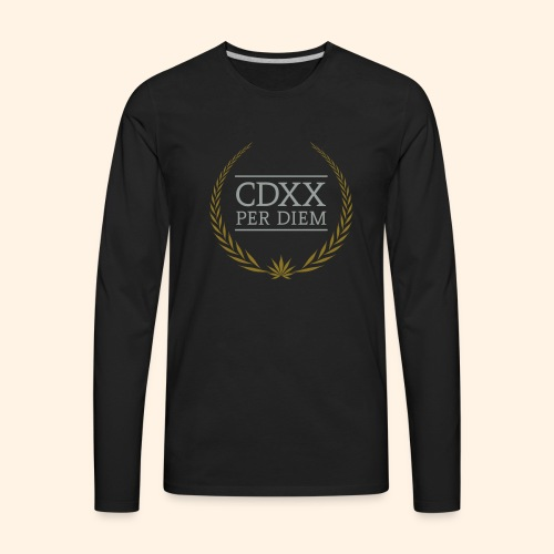 CDXX Per Diem - Men's Premium Long Sleeve T-Shirt