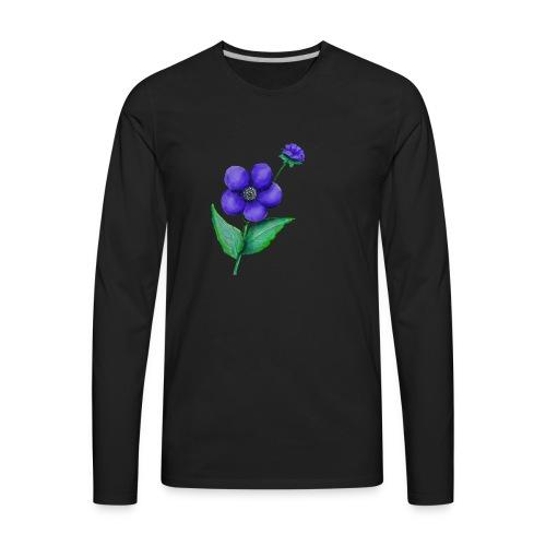 Flower - Men's Premium Long Sleeve T-Shirt