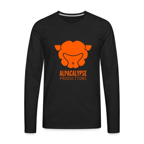 Alpacalypse Logo - Men's Premium Long Sleeve T-Shirt