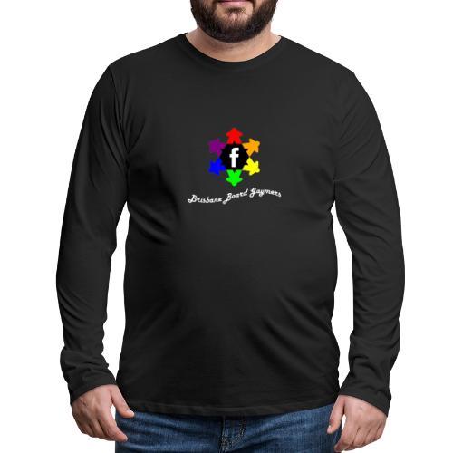 Brisbane Board Gaymers - Men's Premium Long Sleeve T-Shirt