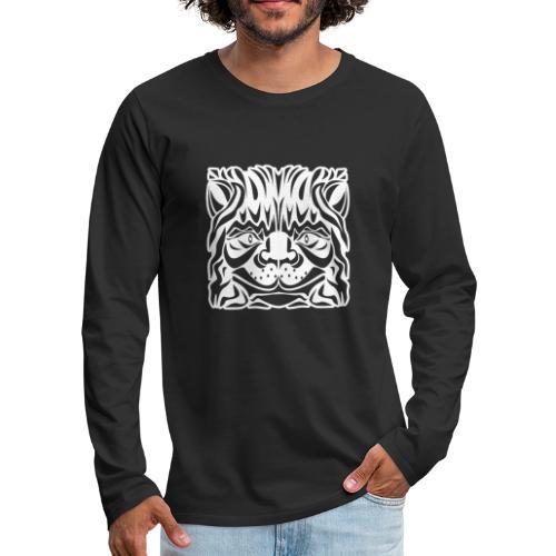 Cat's Head - Men's Premium Long Sleeve T-Shirt