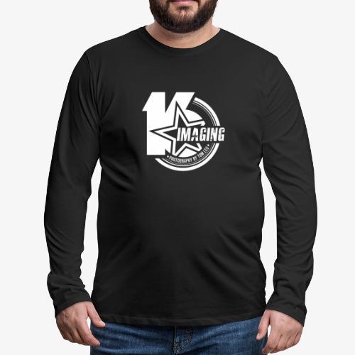 16IMAGING Badge White - Men's Premium Long Sleeve T-Shirt