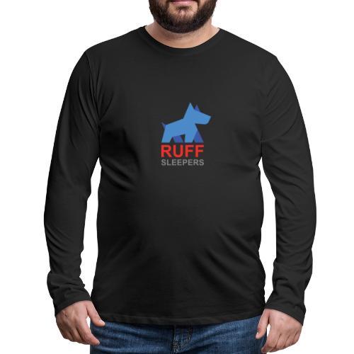 ruffsleepers logo 01 - Men's Premium Long Sleeve T-Shirt