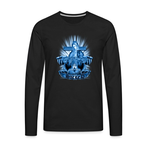 Sacred by RollinLow - Men's Premium Long Sleeve T-Shirt