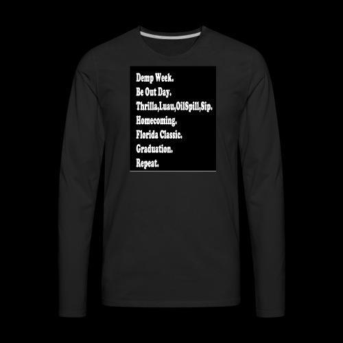 Rattlers Be Like - Men's Premium Long Sleeve T-Shirt