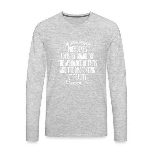 Nothing is True - Men's Premium Long Sleeve T-Shirt