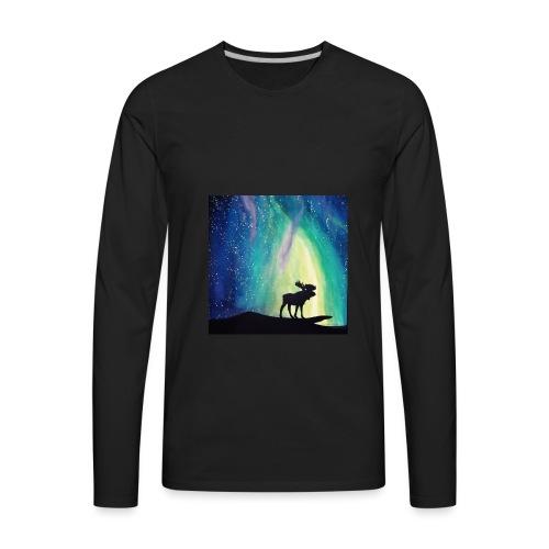 Night Moose - Men's Premium Long Sleeve T-Shirt