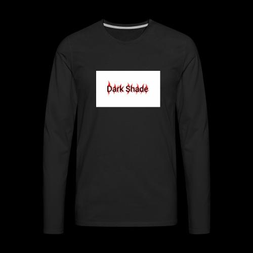 Dark Shade White - Men's Premium Long Sleeve T-Shirt