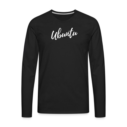 Ubuntu 1 - Men's Premium Long Sleeve T-Shirt