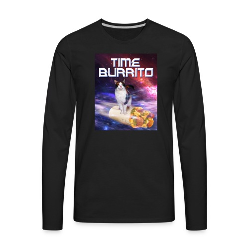 Time Burrito - Men's Premium Long Sleeve T-Shirt