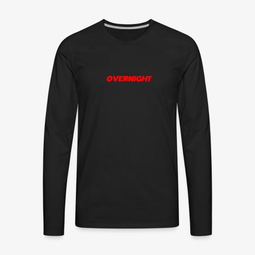 Overnight - Men's Premium Long Sleeve T-Shirt