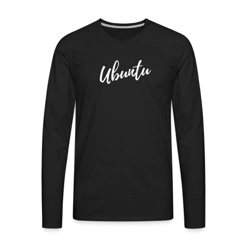 Ubuntu 1 - Men's Premium Long Sleeve T-Shirt