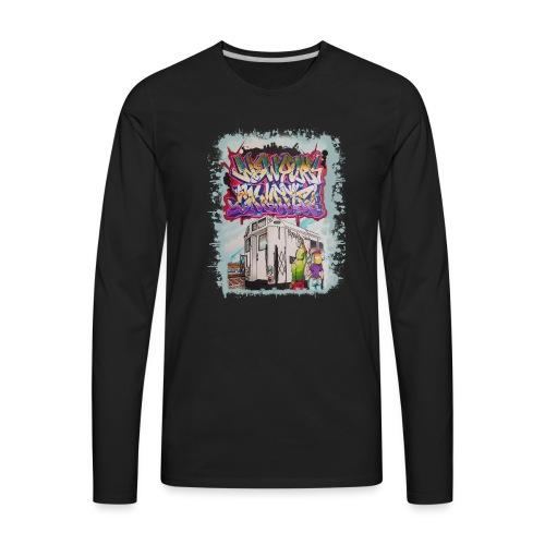 STEM - Design for NYG - Men's Premium Long Sleeve T-Shirt