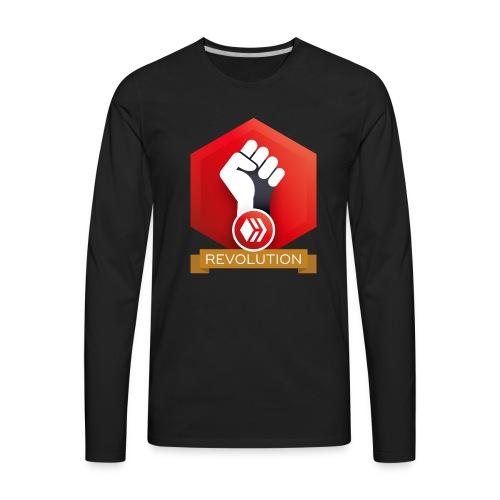 Hive Revolution Banner - Men's Premium Long Sleeve T-Shirt