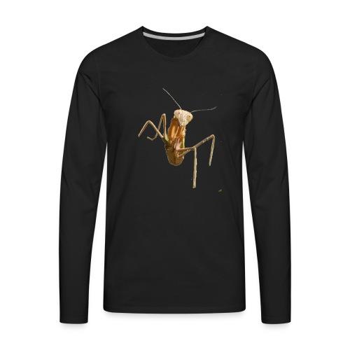 praying mantis - Men's Premium Long Sleeve T-Shirt