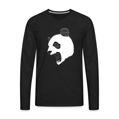 Fierce Panda Crewneck - Men's Premium Long Sleeve T-Shirt