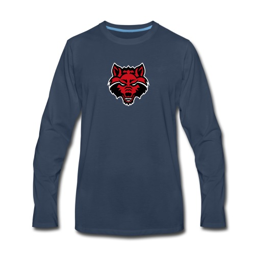 Red Wolf - Men's Premium Long Sleeve T-Shirt
