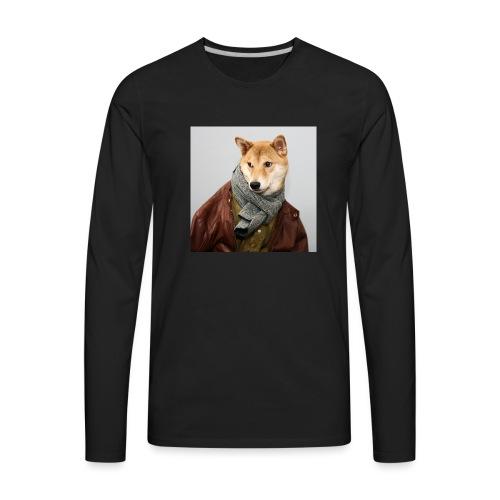 doge shirt - Men's Premium Long Sleeve T-Shirt