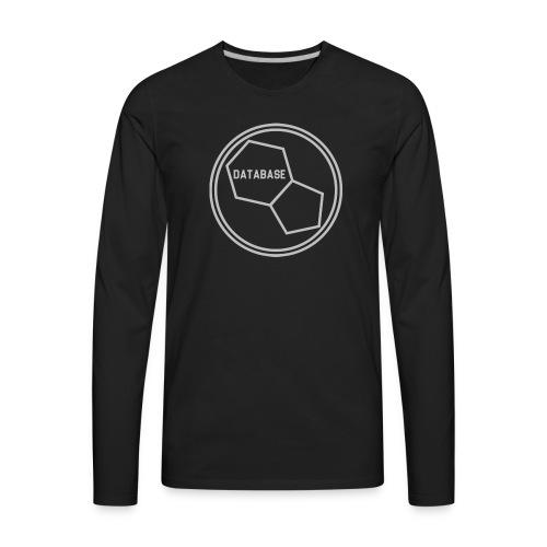 DATABASE [Light Grey] - Men's Premium Long Sleeve T-Shirt