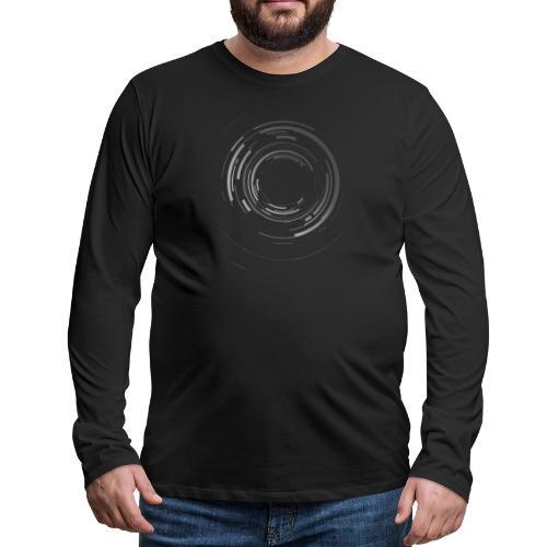 Abstract lens - Men's Premium Long Sleeve T-Shirt