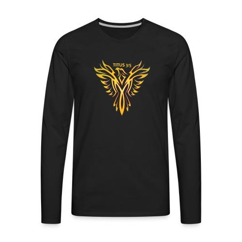 Titus 3:5 - Men's Premium Long Sleeve T-Shirt
