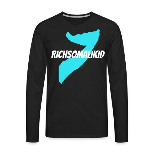 Richsomalikid Somali - Men's Premium Long Sleeve T-Shirt