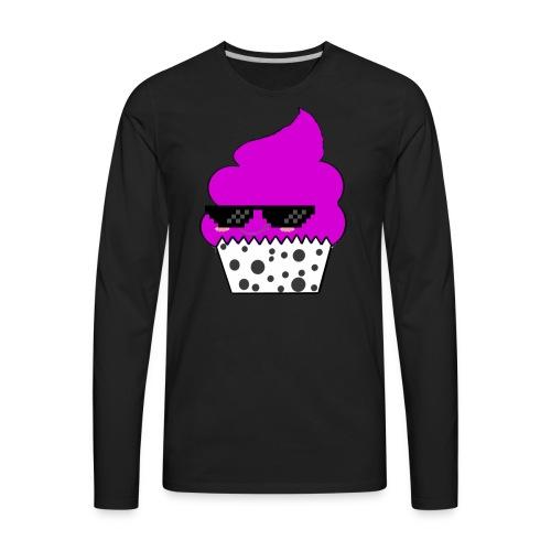 Thug Life Cupcake - Men's Premium Long Sleeve T-Shirt