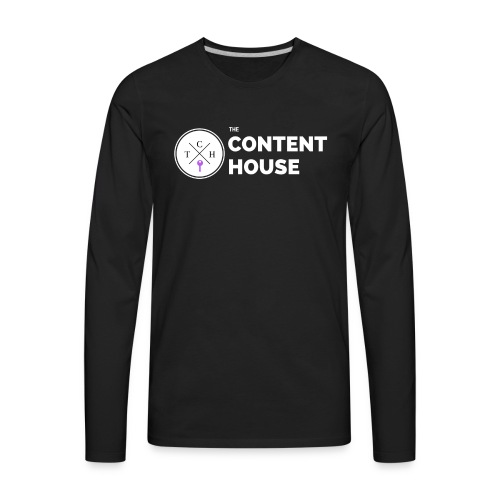 TCH Logo Standard - Men's Premium Long Sleeve T-Shirt