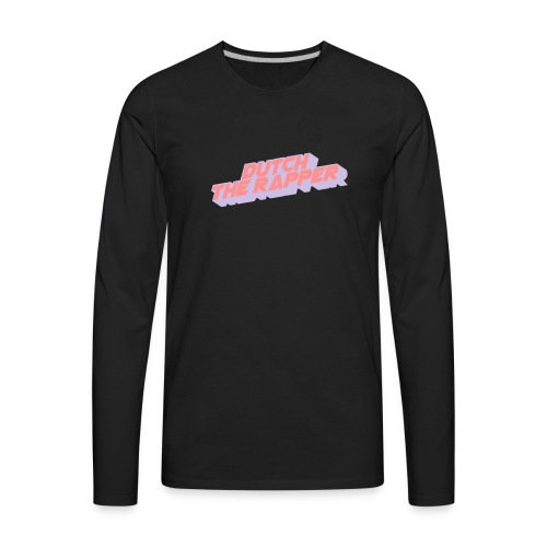DUTCH THE RAPPER CLASSICS - Men's Premium Long Sleeve T-Shirt