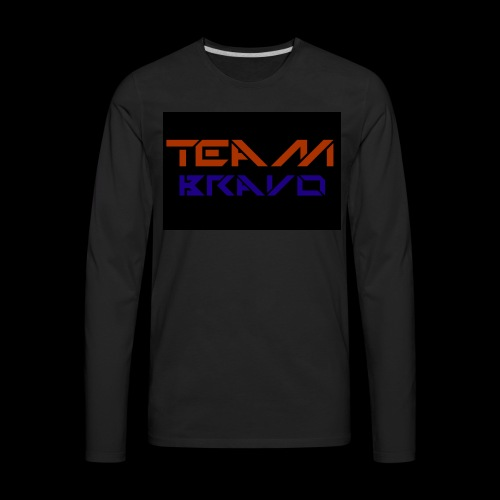 Team Bravo - Men's Premium Long Sleeve T-Shirt