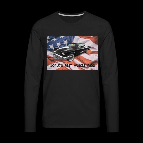World's Best Muscle Cars - Men's Premium Long Sleeve T-Shirt