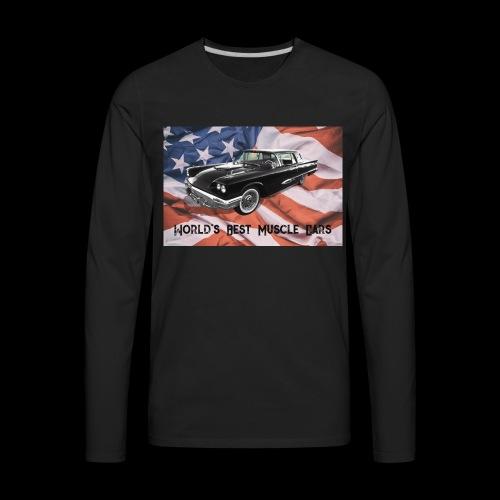 World's Best Muscle Cars - Men's Premium Long Sleeve T-Shirt