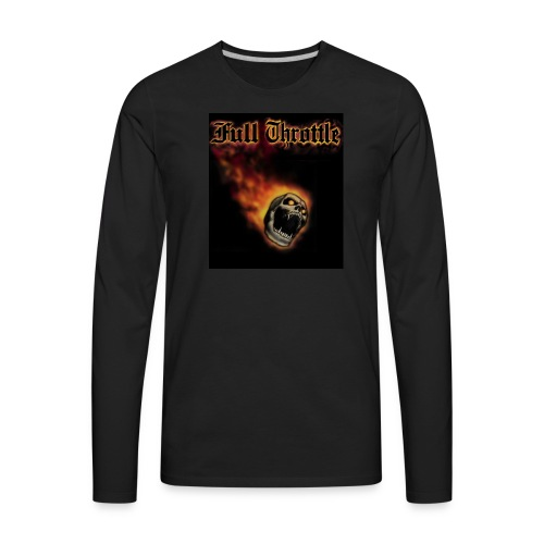 full throttle - Men's Premium Long Sleeve T-Shirt