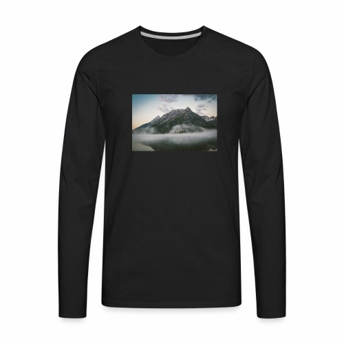 mountain view - Men's Premium Long Sleeve T-Shirt