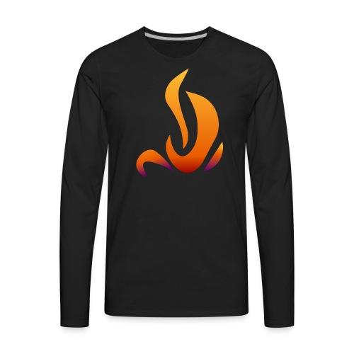 Pyrostealer logo - Men's Premium Long Sleeve T-Shirt
