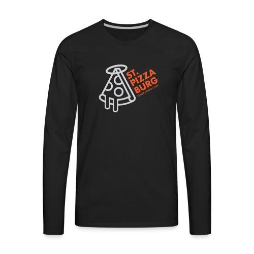 St. Pizzaburg - Dark Colors - Men's Premium Long Sleeve T-Shirt