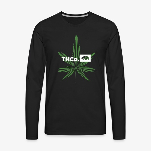 leaf logo shirt - Men's Premium Long Sleeve T-Shirt