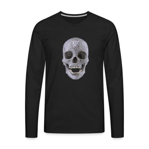 diamond_skull_1 - Men's Premium Long Sleeve T-Shirt