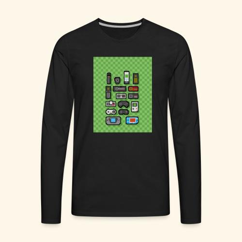 controller handy - Men's Premium Long Sleeve T-Shirt